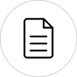 sistema jurídico contratos ícone