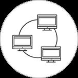 sistema jurídico workflow ícone
